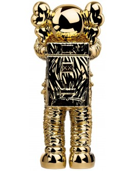 """KAWS Holiday Space Figure """"Gold"""""""