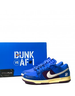 Nike Dunk Low x Undefeated 5 on it Dunk VS AF1