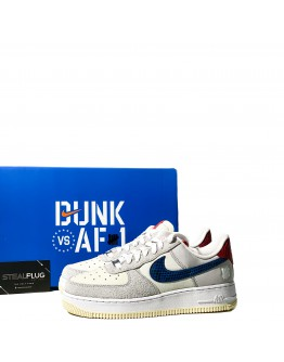 """Nike Air Force 1 Low x Undefeated 5 on it """"White Blue"""""""