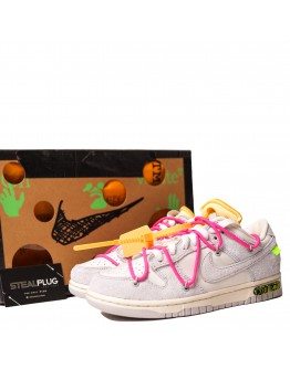 """Nike Dunk Low x Off-White """"lot 17 of 50"""""""