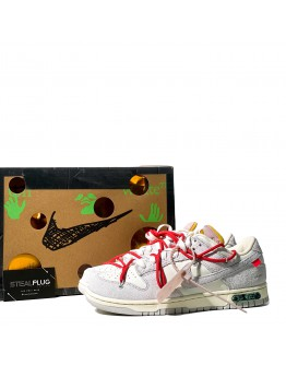 """Nike Dunk Low x Off-White """"Lot 33 of 50"""""""
