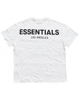 """Fear Of God Essentials Los Angeles 3M Boxy T-Shirt """"White"""""""