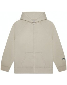 Fear Of God Essentials3D Silicon Applique Full Zip Up Hoodie String