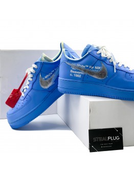 """Nike x Off-White Air Force 1 Low MCA """"University Blue"""""""