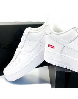 "Nike x Supreme Air Force 1 Low ""White"""