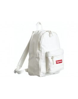"""Supreme FW20 Canvas Backpack """"White"""""""