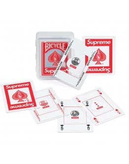 Supreme FW20 Bicycle Clear Playing Cards