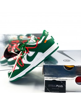 """Nike x Off-White Dunk Low """"Pine Green"""""""