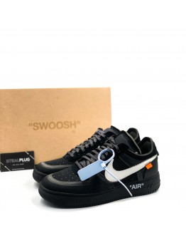 """Nike x Off-White Air Force 1 Low """"Black"""""""